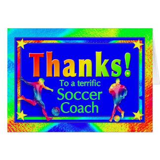 De Bus van het voetbal dankt u kaardt Kaart
