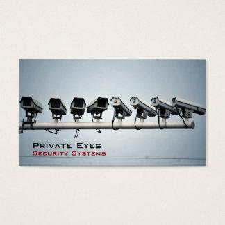 De Camera's van de veiligheid Visitekaartjes