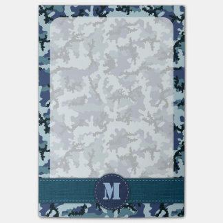 De camouflage van de marine post-it® notes
