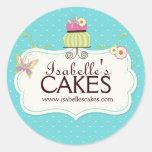 De capricieuze Etiketten van de Cake Sticker