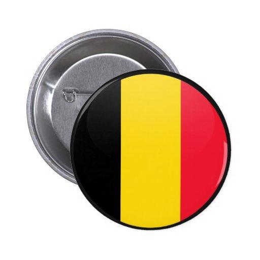 De Cirkel van de Vlag van de kwaliteit van België Speld Button