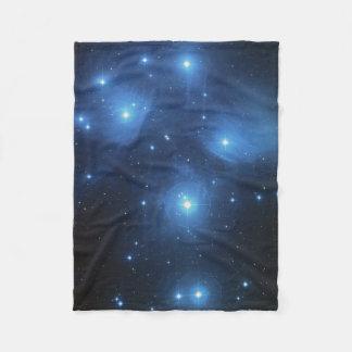 De Cluster Pleiades Slordigere 45 van de Ster van Fleece Deken