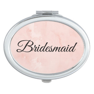 """De compacte spiegel van het """"bruidsmeisje"""" reisspiegeltje"""