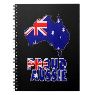 De Dag van Australië Notitieboek