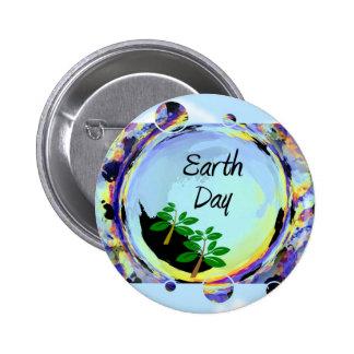 De Dag van de aarde Ronde Button 5,7 Cm