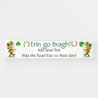De Dag van heilige Patrick of Ierse Zaken Spandoek