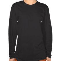 De dames lang sleeve van Mandala van het Fortuin T-shirt