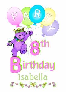 8ste Verjaardag Bedankzakjes Zazzle Be