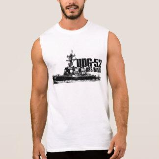 De DDG-52 Barry des hommes T-shirt sans manche du