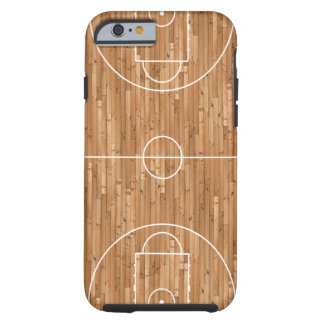 De Dekking van de Rechtszaak van het basketbal Tough iPhone 6 Hoesje