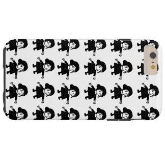 De dekking van Illystration Iphone van het meisje Tough iPhone 6 Plus Hoesje