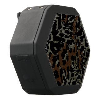 De donkere Bruine Zwarte Samenvatting van de Zwarte Bluetooth Speaker