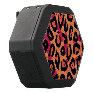 De donkere Roze Geeloranje Samenvatting van de Zwarte Bluetooth Speaker