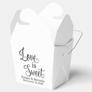 De Doos van de Gunst van het huwelijk - de Liefde Bedankdoosjes
