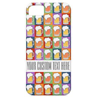 De douanehoesje van het Pop-art van het BIER iPhone 5 Hoesje