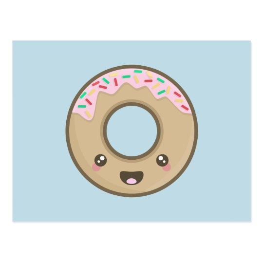 De Doughnut van Kawaii Briefkaart