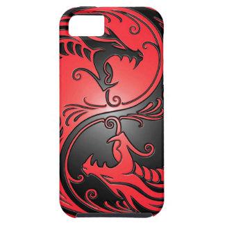 De Draken het rood en de zwarte van Yang van Yin iPhone 5 Case