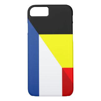 de drapeau de pays de drapeau de la Belgique de Coque iPhone 7