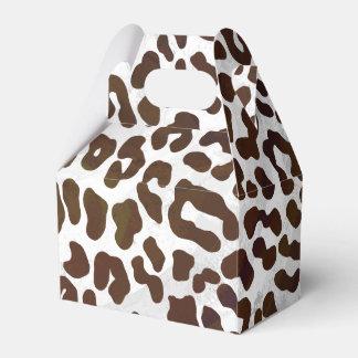 De Druk van de Chocolade van de luipaard Bedankdoosjes