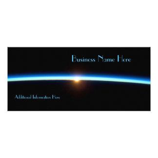 De dunne Kaart Van de Bedrijfs kalender van Blue L