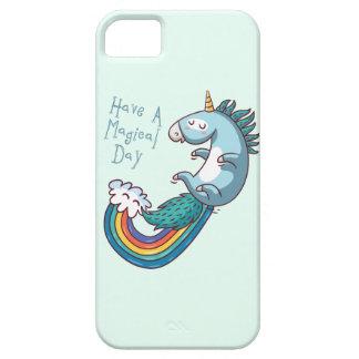 De eenhoorn heeft een magische dag barely there iPhone 5 hoesje