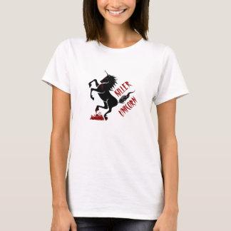 De eenhoornt-shirt van de moordenaar t shirt