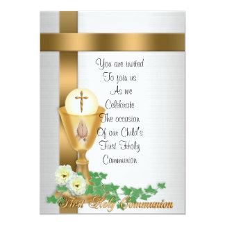 De eerste uitnodiging van de Heilige Communie