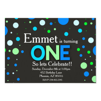 De eerste Uitnodiging van de Verjaardag, 1st