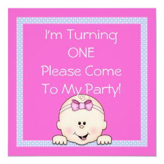 De eerste Uitnodiging van de Verjaardag voor