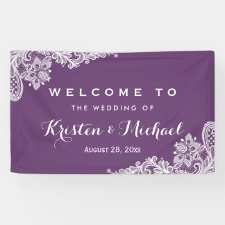 De elegante Partij van het Huwelijk van het Spandoek