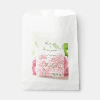 De elegante Roze Zomer nam Huwelijk toe Bedankzakjes 0