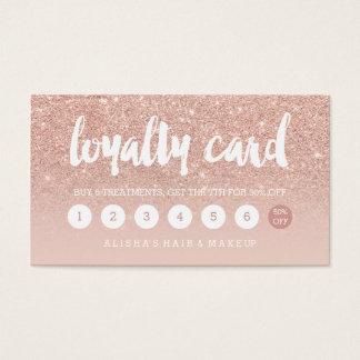 de elegante typografie bloost toenam gouden visitekaartjes