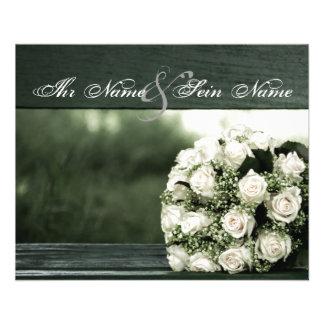 De elegante Uitnodigingen van het Huwelijk