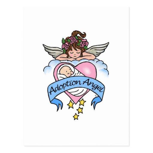 De Engel van de goedkeuring van Liefde Wenskaart