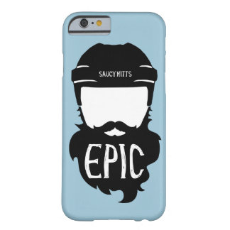 De epische Baard van het Hockey Barely There iPhone 6 Hoesje
