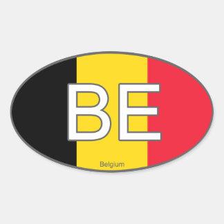 De Euro Sticker van België
