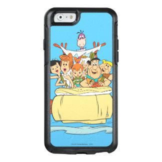 De Familie Roadtrip van Flintstones OtterBox iPhone 6/6s Hoesje