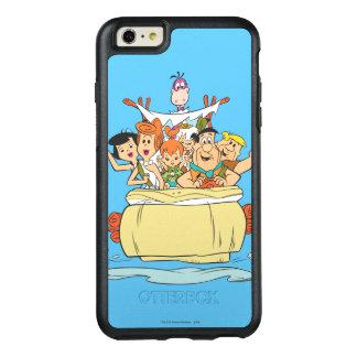 De Familie Roadtrip van Flintstones OtterBox iPhone 6/6s Plus Hoesje
