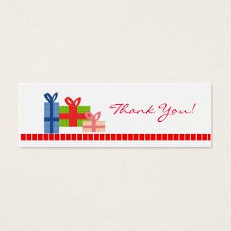 De fête - carte de remerciements