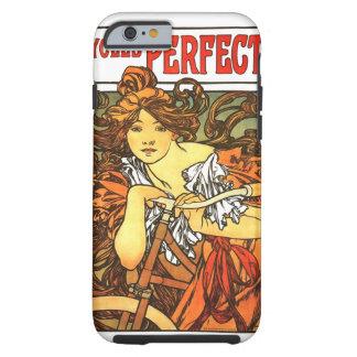 De Fiets van de Jugendstil - Alphonse Mucha Tough iPhone 6 Hoesje