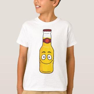 De Fles van het bier Emoji T Shirt