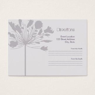 De Flora van Lavendar Visitekaartjes