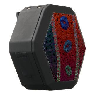 De fluorescente Blauwe Sterren van Lippen Zwarte Bluetooth Speaker