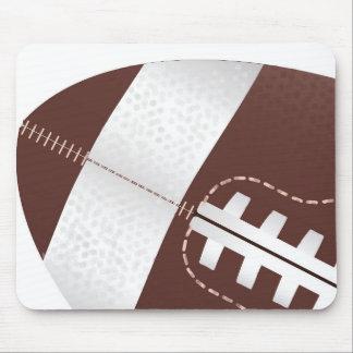 De football américain de boule fin tapis de souris