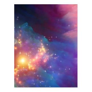 De geboorte van de ster briefkaart
