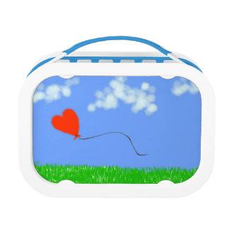 De gelukkige Ballon van het Hart Lunchbox