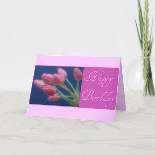 Gelukkige Verjaardag Bloem Tulp Briefkaarten Zazzle Be