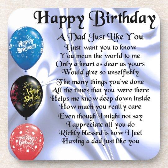 Bedwelming Gedicht Verjaardag Vader ZJ32 | Belbin.Info @RW16