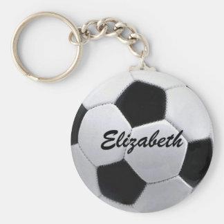 De gepersonaliseerde Bal Keychain van het Voetbal Sleutelhangers