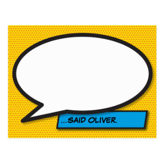 De gepersonaliseerde Grappige Bel van de Toespraak Briefkaart